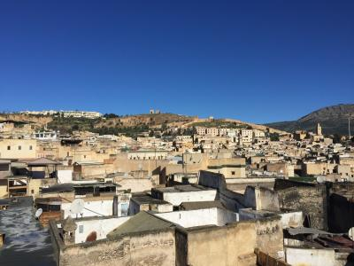 モロッコ フェズ旧市街