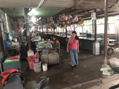2018年ベトナムラオスタイ研修旅行5(何もない町ドンハで普段着のベトナムの町を散歩)