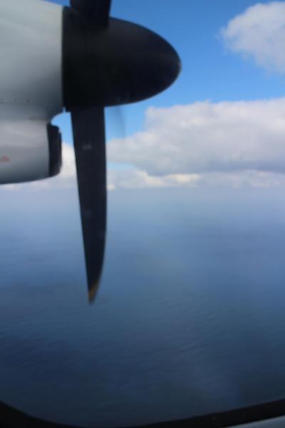 JALPAK、アイランドホッパーin OKINAWA、2日間8フライトツアー、飛行機と離島の風景を楽しむ。1日目。