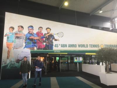 ABNアムロワールドテニス観戦@ロッテルダム+ブリュッセル2泊3日の旅①