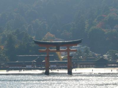 香川から錦帯橋・厳島神社へ1泊2日 宮島・厳島神社編