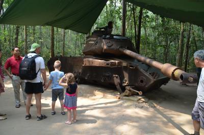 3回目のヴェトナム訪問‐2:解放戦線の拠点が置かれたクチを訪れ苦難の歴史を学ぶ