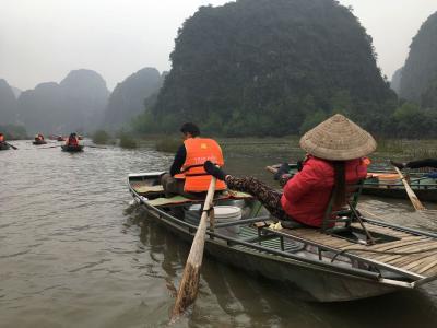 初のベトナム 2018新年:12/29 世界遺産ニンビン