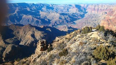 アメリカ西部周遊の旅:P5.グランドキャニオン