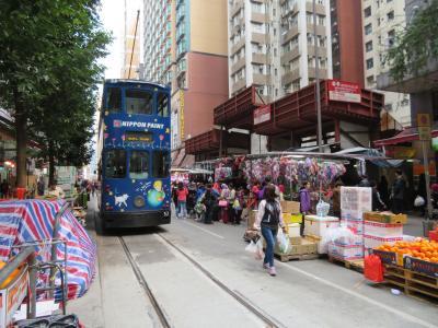 冬タビ、ふらっと香港★ ~①トラムに乗って街歩き♪