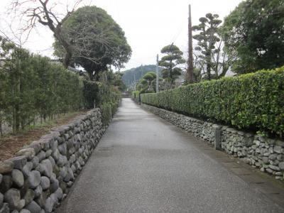 薩摩・出水 石積と生垣が美しい麓武家屋敷群と嘉例川駅をぶらぶら歩き旅ー3