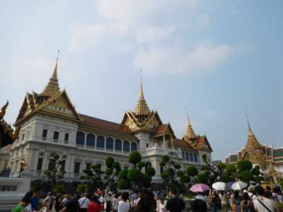 バンコクでエグゼクティブルームに泊まる&食べ歩き&街歩き(5)「ワットプラケーオ・王宮」
