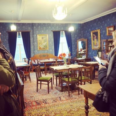 3度目のフィンランド #8 タンペレ③ ムーミン美術館、ナシンネウラ・タワー、フランシラ・ファーム見学、サウナ体験