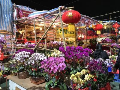 """駐在のついでに 【現地速報】 香港、旧正月前の風物詩 """"年宵花市 Lunar NewYear Fair""""  は、凄い盛り上がりでした!"""