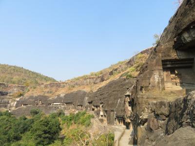 初インドを一ヶ月縦断で一人旅してみた 17日目 アジャンター遺跡に行ってみた