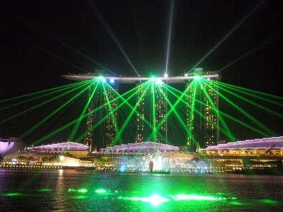 12回目のシンガポールとジョホールバルショッピング・その4マリーナベイサンズ夜景編