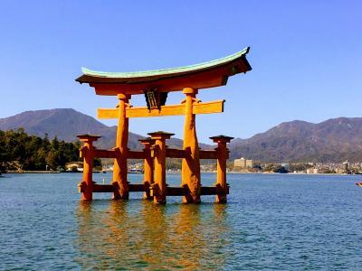 JALのマイルで子連れ広島2日目①   まずは宮島へ!