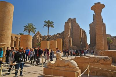 2018冬のエジプト旅行(1)-出国~ルクソール東岸其の1(カルナック神殿)-