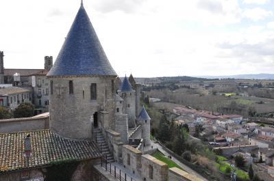 ベニスからバルセロナまで4ヶ国周遊の旅 №5 カルカソンヌ