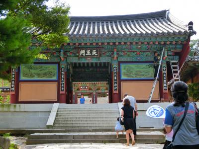 釜山の梵魚寺 ダイヤモンド・プリンセス 納涼の日本海と宮崎・韓国9日間