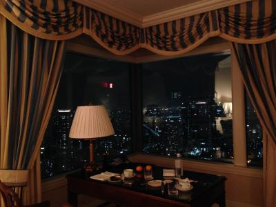 リッツ・カールトン大阪 最上階スカイビューフロアに泊まる2 パセミヤとリッツのバー