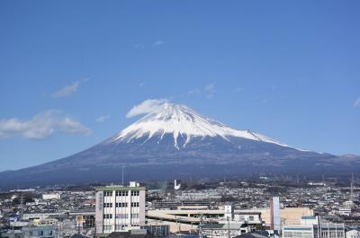 散歩 =富士山を見ながら… 2018.02.12=
