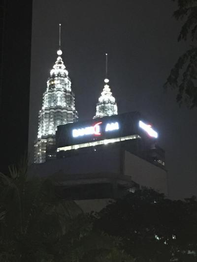 初マレーシア