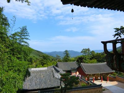 釜山の梵魚寺2 ダイヤモンド・プリンセス 納涼の日本海と宮崎・韓国9日間