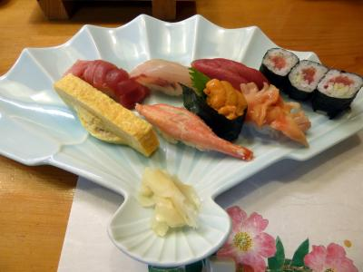 07.師走の箱根1泊 東急ハーヴェストクラブ箱根甲子園 はこね寿司の夕食