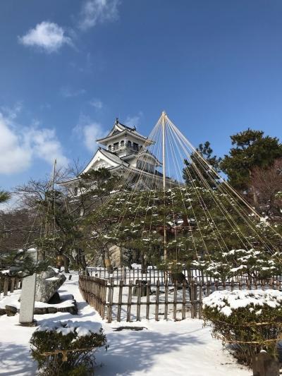 長浜は今日も雪だった^_^