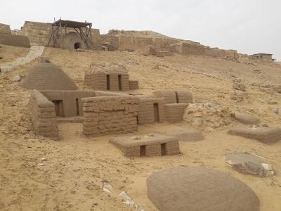 ギザのピラミッドを造った労働者の墓が公開開始!
