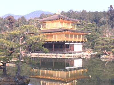 金閣寺から北野天満宮まで歩いて見ました