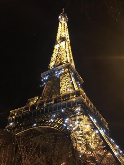 2017 パリ出張ついでのプチ観光(今回は時間がないので夜のエッフェル塔狙い)