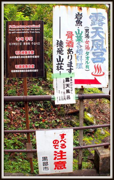 黒部峡谷:トロッコ電車に乗って、宇奈月温泉から欅平(けやきだいら)駅を往復す。(宇奈月/黒部/富山県)