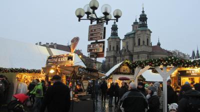 チェコ、プラハで年越し