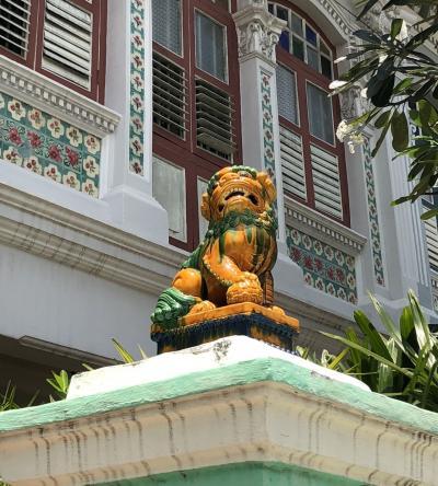 一人旅初シンガポール③五日目、初夏の街をテクテク街歩き-その2