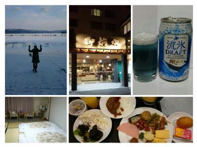 さっぽろ雪まつりと北海道7つの冬物語③ ホテル御前水と阿寒湖第40回 阿寒湖氷上フェスティバルICE