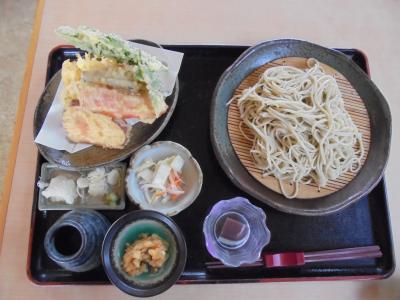 那須塩原の香林坊で蕎麦を食す。