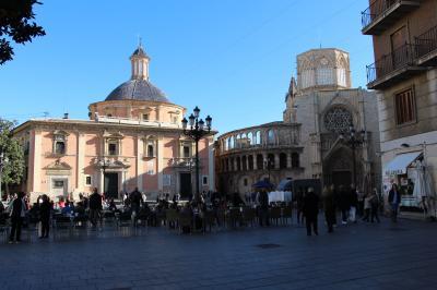 ちょっぴり寒い11月のスペインを欲張る旅行(その9 住みたい街、ゆったりとしたバレンシア その2)