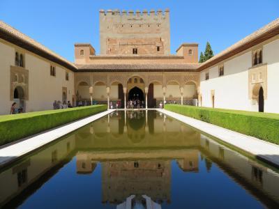 2017スペイン旅行Part4 グラナダ滞在~アルハンブラ宮殿見学