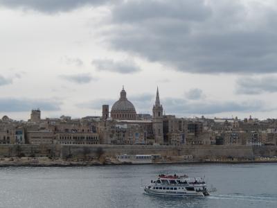 予定外の初旅行は自由行動日が1日あって大満足♪だって私は歩きたい! マルタ旅③