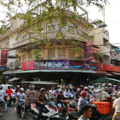 カンボジア1 プノンペン-メコン川、キリング・フィールド