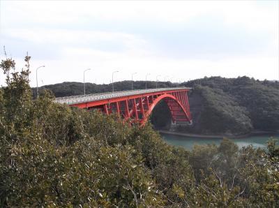的矢湾大橋(三重県志摩市)へ立ち寄ってきました・・・