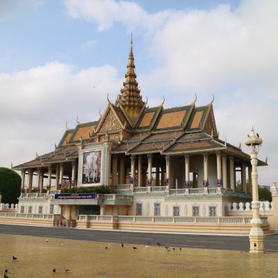 カンボジア2 プノンペン-国立博物館、王宮