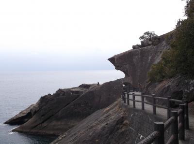 鬼ヶ城(三重県熊野市)へ行ってきました・・・・