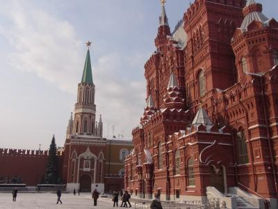冬のモスクワの旅―赤の広場と国立歴史博物館ー(2012年2月)
