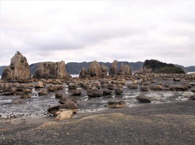 橋杭岩(和歌山県串本町)へ行ってきました・・・