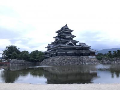 2017青春18きっぷ+α夏で松本城