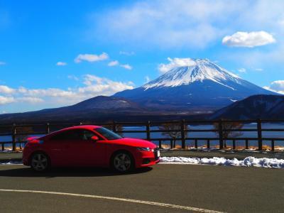 【Audi TTCoupé 購入記念特別版】厳冬の富士五湖「快晴の富士山麓を走る!break in a new TT♪」