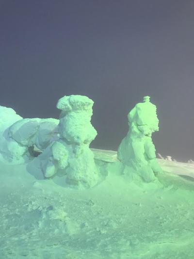 樹氷と松島のカキを訪ねて 1
