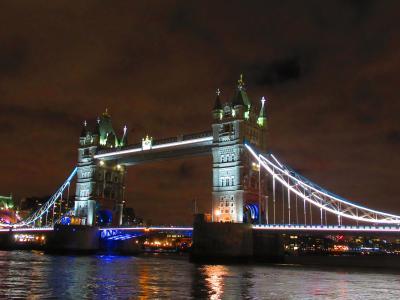 1月のイギリス ロンドン