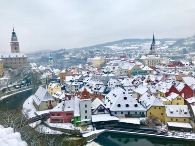 中欧3ヶ国:久遠の時を感じる旅♪♪チェコプラハ~世界で最も美しい街といわれる「チェスキークルムロフ」中世の時を感じる旧市街のレトロな宿に泊まって..眠れる森の美女を想う☆第1章