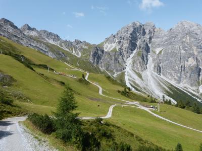 バックパッカーハイキングー2 2017年 ドイツ・オーストリア・イタリアドロミテ 6-セルレス・楽しいリュージュ・シュリック2000・
