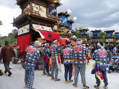 2018春の愛知(1)犬山祭(試楽祭)昼の部を見物する