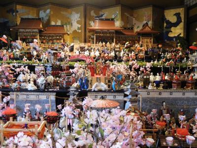 2018年2月 福岡 その3 飯塚・旧伊藤伝右衛門邸にひな人形を見に行きました。